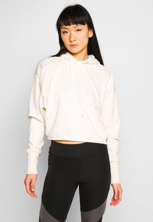 RECYCLE - Bluza z kapturem - white
