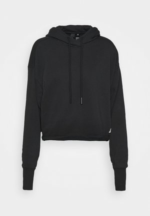 RECYCLE - Jersey con capucha - black