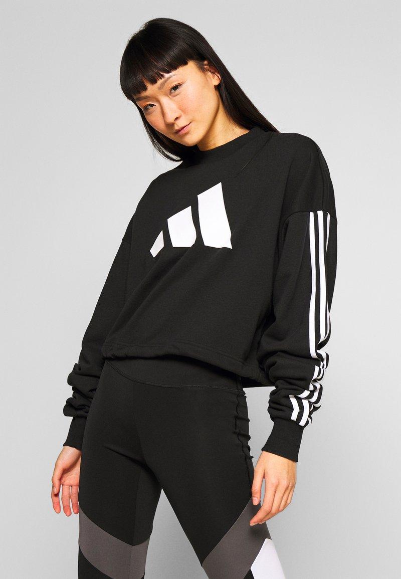 adidas Performance - ADJUST - Sweater - black