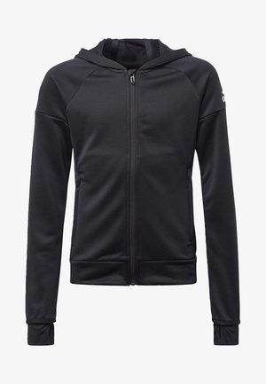 EQUIPMENT HOODIE - veste en sweat zippée - black