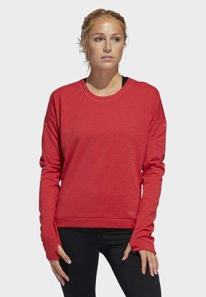 SUPERNOVA RUN CRU SWEATSHIRT - Sweatshirt - glory red