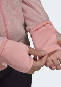 adidas Performance - MUST HAVES VERSATILITY HOODIE - Hettejakke - pink - 6