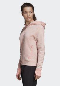adidas Performance - MUST HAVES VERSATILITY HOODIE - Hettejakke - pink - 3
