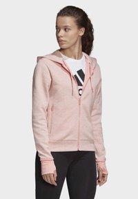 adidas Performance - MUST HAVES VERSATILITY HOODIE - Hettejakke - pink - 2