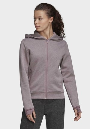 MUST HAVES VERSATILITY HOODIE - Zip-up hoodie - purple