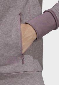adidas Performance - MUST HAVES VERSATILITY HOODIE - Hettejakke - purple - 4