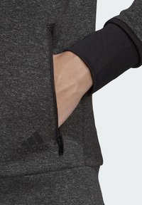 adidas Performance - MUST HAVES VERSATILITY HOODIE - Collegetakki - black - 5