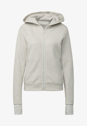 MUST HAVES VERSATILITY HOODIE - Sweatjacke - grey melange