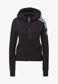 adidas Performance - Zip-up hoodie - black - 6