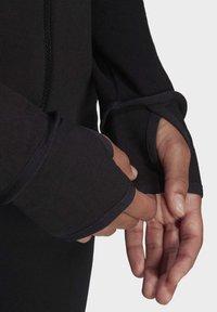 adidas Performance - Zip-up hoodie - black - 4
