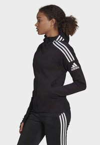 adidas Performance - Zip-up hoodie - black - 2
