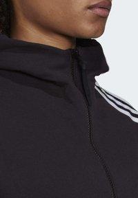adidas Performance - Zip-up hoodie - black - 5