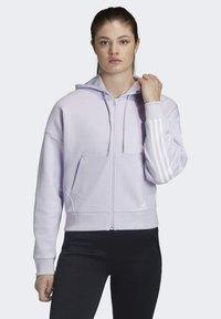 adidas Performance - Hettejakke - purple tint - 0