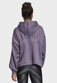 adidas Performance - GATHERED HOODIE - Hettejakke - purple - 2