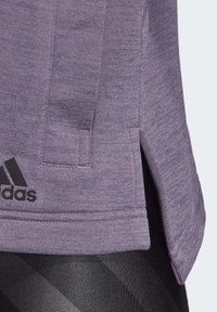 adidas Performance - GATHERED HOODIE - Hettejakke - purple - 7
