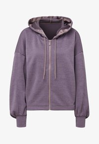 adidas Performance - GATHERED HOODIE - Hettejakke - purple - 8