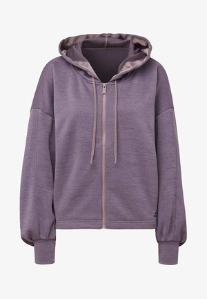 GATHERED HOODIE - Collegetakki - purple