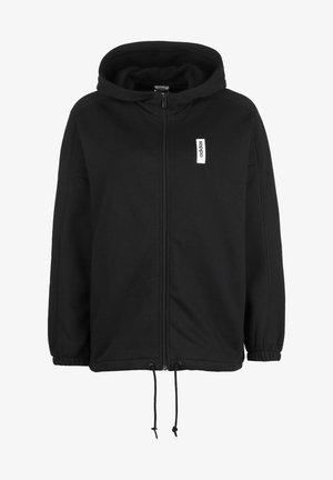 BRILLIANT BASICS TRACK KAPUZENSWEATJACKE DAMEN - Zip-up hoodie - black