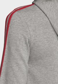 adidas Performance - ESSENTIALS 3-STRIPES HOODIE - Zip-up hoodie - grey - 6