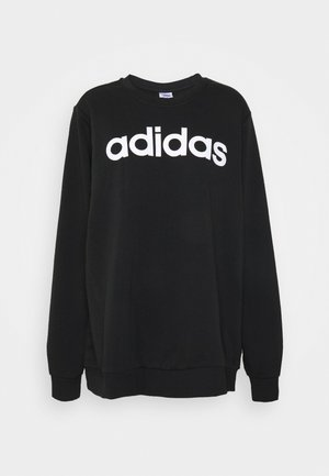 ESSENTIALS PRIMEGREEN SPORTS - Sweatshirts - black/white