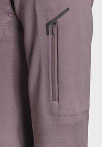 adidas Performance - STOCKHORN HOODED JACKET - Zip-up hoodie - purple - 4
