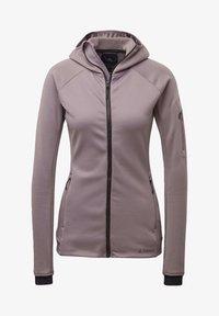 adidas Performance - STOCKHORN HOODED JACKET - Zip-up hoodie - purple - 8