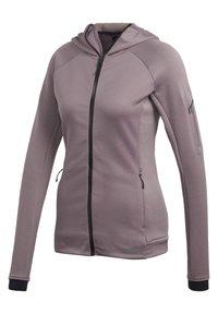adidas Performance - STOCKHORN HOODED JACKET - Zip-up hoodie - purple - 6
