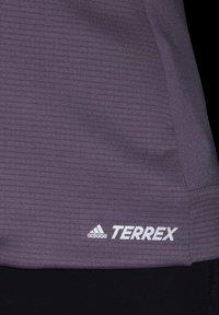 adidas Performance - STOCKHORN HOODED JACKET - Zip-up hoodie - purple - 5