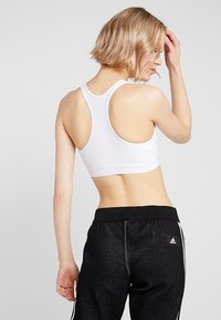 adidas Performance - CLIMACOOL WORKOUT BRA - Sport-bh - white - 2