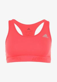 adidas Performance - CLIMACOOL WORKOUT BRA - Sport BH - shock red - 4