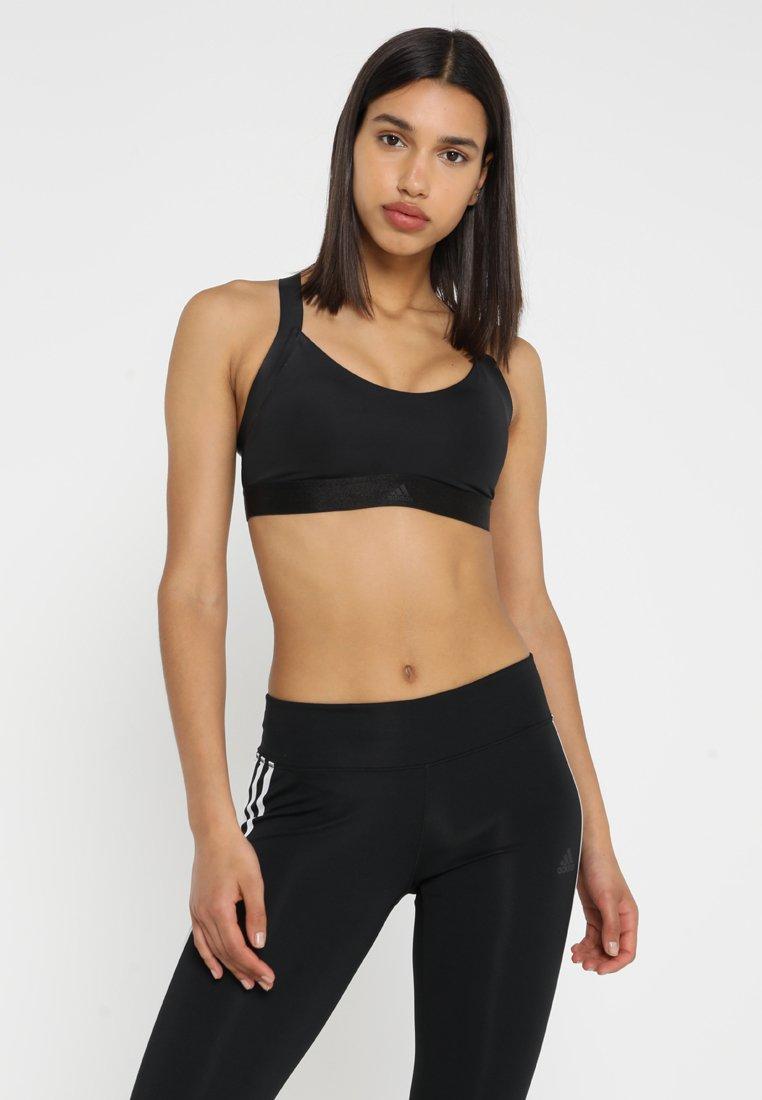 adidas Performance - ALL ME WARRIOR - Sportovní podprsenka - black