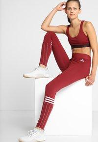 adidas Performance - ALL ME BRA - Reggiseno sportivo - nobmar/reamag - 1