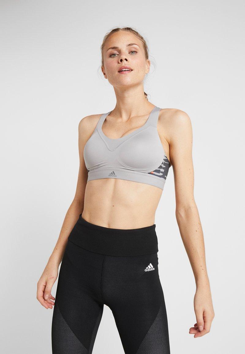 adidas Performance - ADJUSTABLE WORKOUT BRA - Biustonosz sportowy - grey