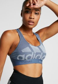 adidas Performance - Sports bra - tech ink/heather - 4