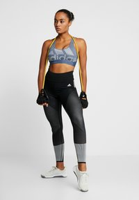adidas Performance - Sports bra - tech ink/heather - 1