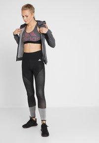 adidas Performance - Sports-BH - black/heather/real pink - 1