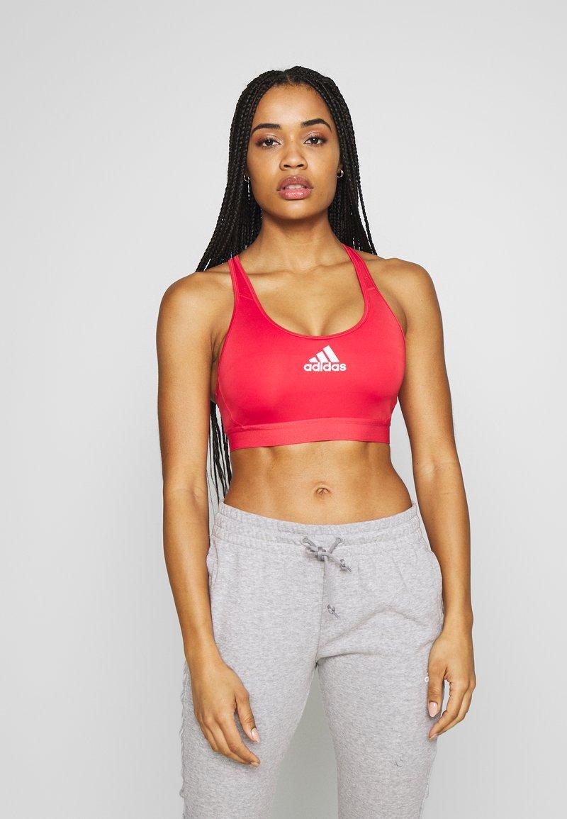 adidas Performance - ASK BRA - Sports bra - red