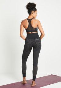adidas Performance - DESIGNED4TRAINING WORKOUT BRA MEDIUM SUPPORT - Sports bra - black - 2