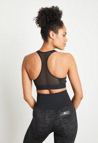 adidas Performance - DESIGNED4TRAINING WORKOUT BRA MEDIUM SUPPORT - Sports bra - black - 3