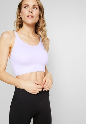 SEAMLESS BRA - Sports bra - purple tint