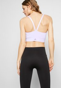 adidas Performance - SEAMLESS BRA - Sport BH - purple tint - 2