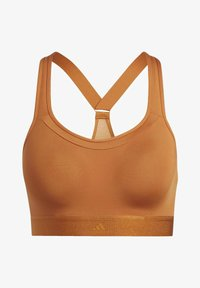 adidas Performance - STRONGER FOR IT RACER BRA - Sports-BH - brown - 3