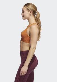 adidas Performance - STRONGER FOR IT RACER BRA - Sports-BH - brown - 2
