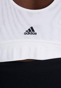 adidas Performance - BRA - Biustonosz sportowy - white - 5