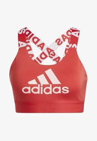 adidas Performance - DON'T REST  BRANDED BRA - Sport BH - glory red - 8
