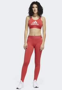 adidas Performance - DON'T REST  BRANDED BRA - Sport BH - glory red - 1