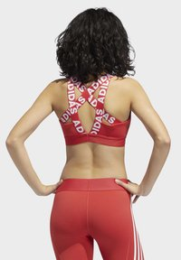 adidas Performance - DON'T REST  BRANDED BRA - Sport BH - glory red - 2
