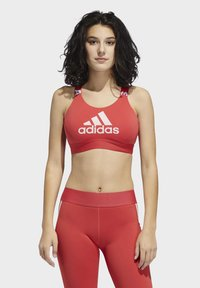adidas Performance - DON'T REST  BRANDED BRA - Sport BH - glory red - 0