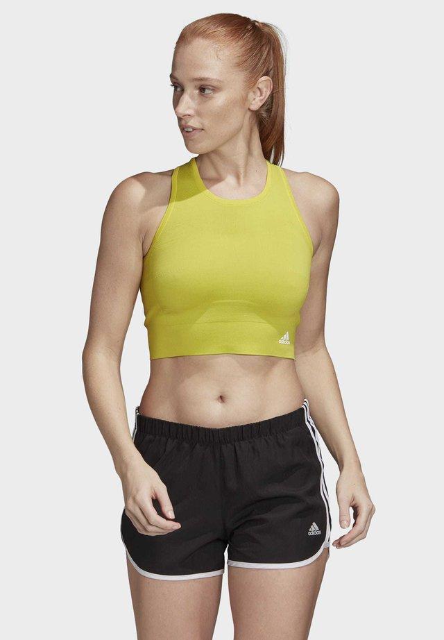 Sports bra - yellow