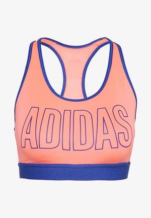 DON'T REST ALPHASKIN BRA - Sports bra - signal pink/royal blue